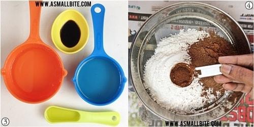 Eggless Chocolate Cupcakes Recipe Steps2