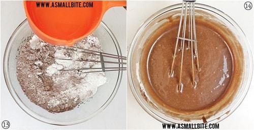 Eggless Chocolate Cupcakes Recipe Steps7