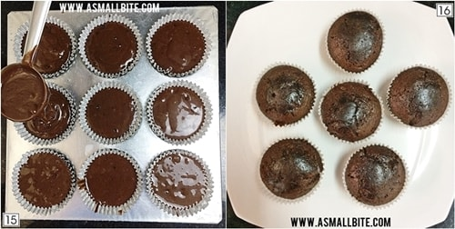 Eggless Chocolate Cupcakes Recipe Steps8