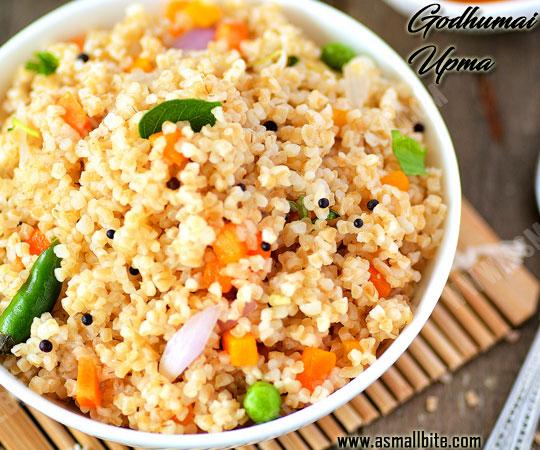 Godhumai Upma Recipe 1
