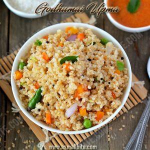 Godhumai Upma Recipe