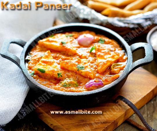 Kadai Paneer Gravy Recipe 1