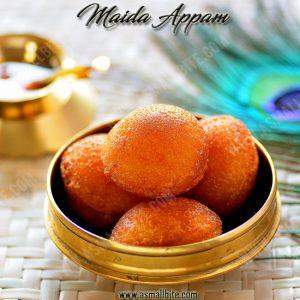 Maida Appam Recipe 1