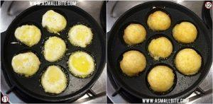 Maida Sweet Paniyaram Recipe Steps6