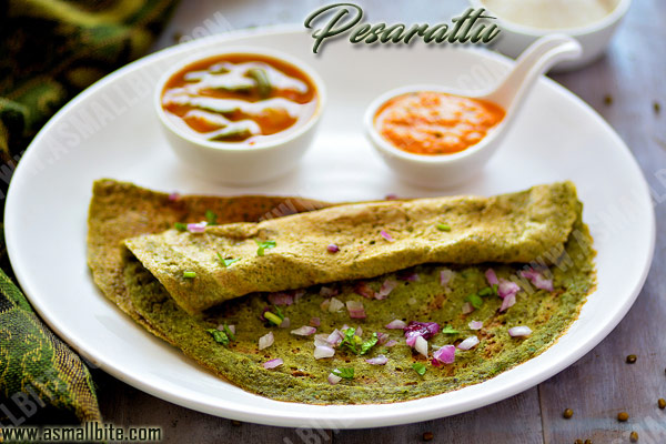 Moong Dal Dosa Recipe 1
