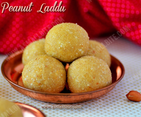 Peanut Laddu Recipe 1