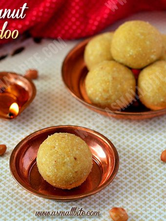 Peanut Ladoo Recipe | Peanut Laddu Recipe