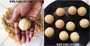 Peanut Laddu Recipe Steps4