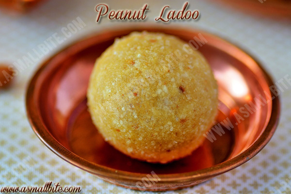 Peanut Ladoo Recipe 1