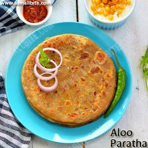 Punjabi Aloo Paratha Recipe 1