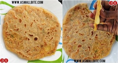 Punjabi Aloo Paratha Recipe Steps13