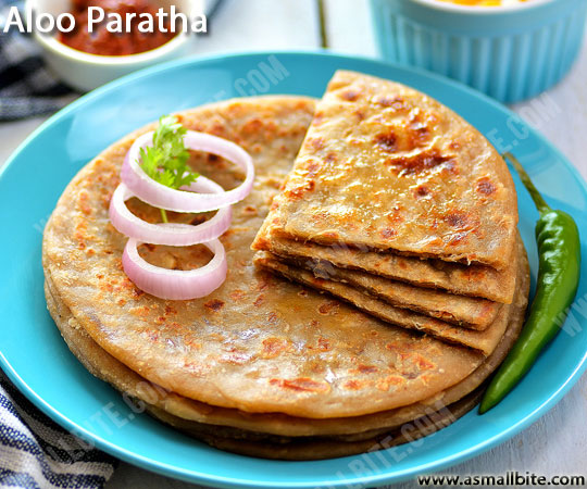 Punjabi Aloo Paratha Recipe