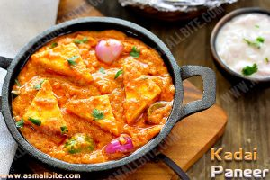 Restaurant Style Kadai Paneer 1