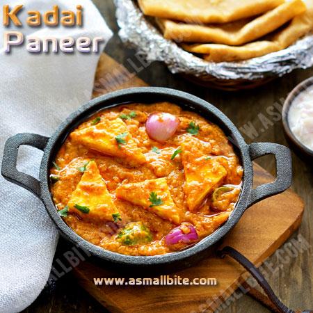 Kadai Paneer Gravy Recipe | Restaurant Style Kadai Paneer