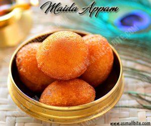 Sweet Maida Paniyaram 1
