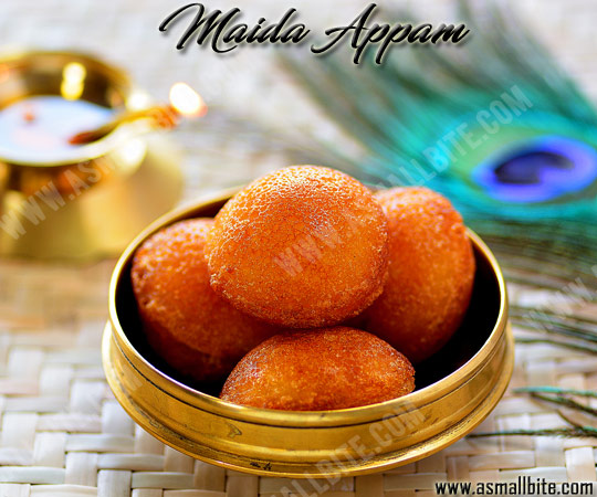 Sweet Maida Paniyaram