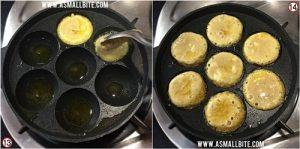 Sweet Sooji Paniyaram Recipe Steps7