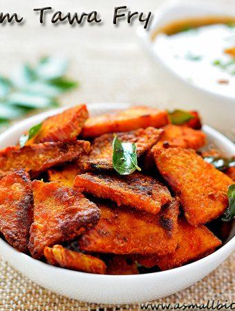 Yam Tawa Fry Recipe | Senaikizhangu Roast