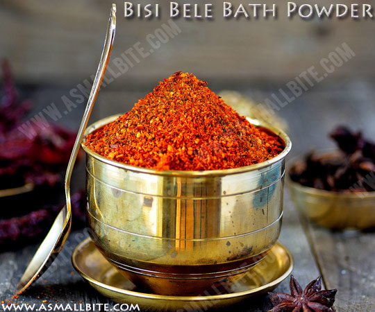 Bisi Bele Bath Masala Powder 1