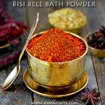 Bisi Bele Bath Masala Powder | Homemade Bisibele Bath Powder