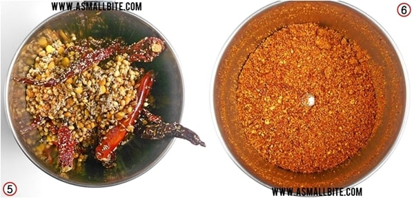 Bisi Bele Bath Masala Powder Steps3