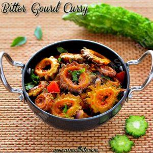 Bitter Gourd Curry Recipe
