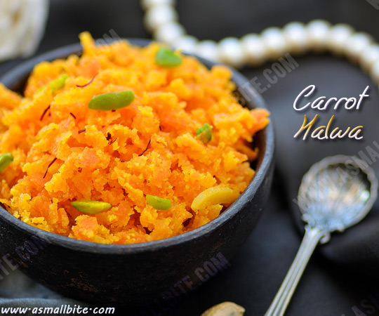 Carrot Halwa Recipe 1