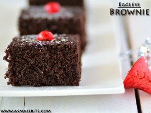 Eggless Brownie Recipe 1
