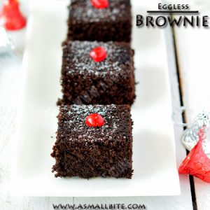 Eggless Brownie Recipe 2