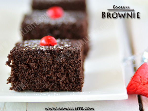 Eggless Brownie Recipe