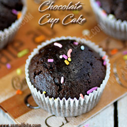 Eggless Chocolate Cupcakes Christmas Recipes 2017