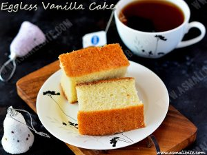 Eggless Vanilla Cake Recipe 1