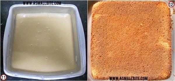 Eggless Vanilla Cake Steps6