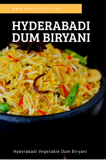 Hyderabad Veg Dum Biryani