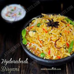 Hyderabadi Biryani Christmas Recipes