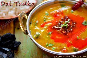 Restaurant Style Dal Tadka Recipe 1