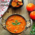 Tomato Kulambu Recipe 1