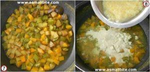 7 Kari kootu Recipe Step4