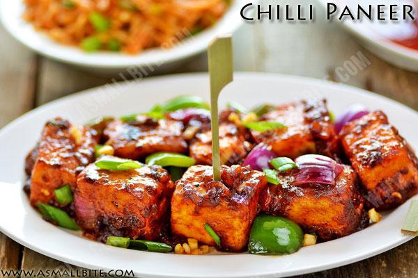 Chilli Paneer Dry Recipe 1