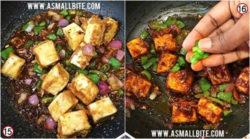 Chilli Paneer Dry Recipe Steps8