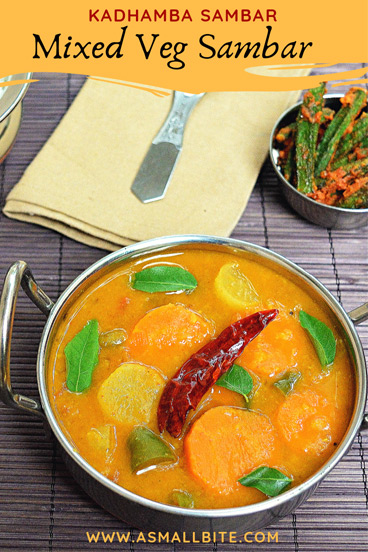 Kadhamba Sambar Recipe