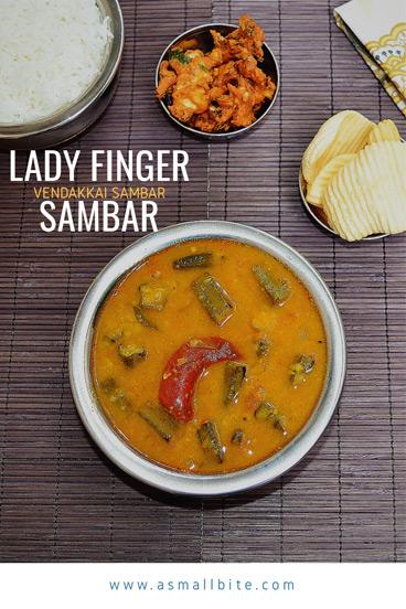 Ladys Finger Sambar Recipe
