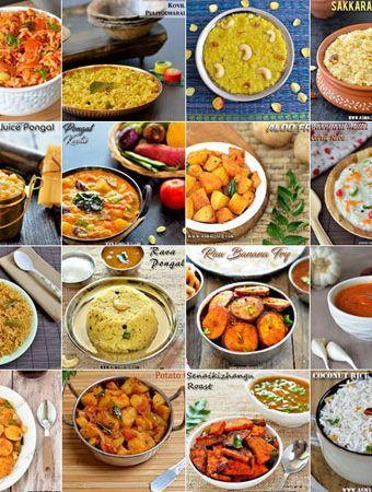 Pongal Festival Recipes 2018 | Makar Sankaranti Recipes