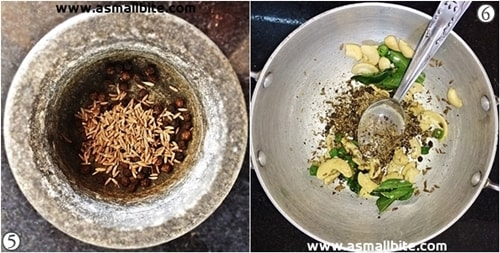 Rava Pongal Recipe Steps3