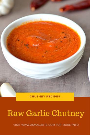 Raw Garlic Chutney