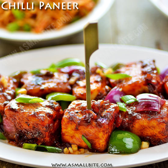 Restaurant Style Chilli Paneer Recipe 1