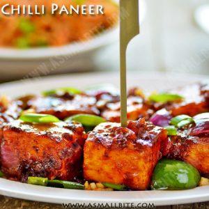 Restaurant Style Chilli Paneer Recipe