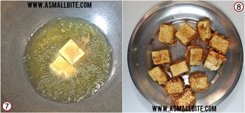 Restaurant Style Chilli Paneer Recipe Steps4