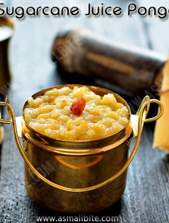 Sugarcane Juice Pongal Recipe | Karumbu Chaaru Pongal