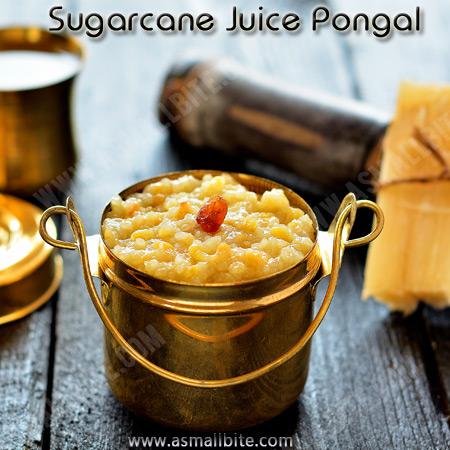 Sugarcane Juice Pongal Recipe 1